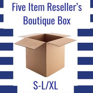 Five Item Reseller's Boutique Box (S-L/XL)